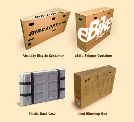 Type of boxes you can ship.